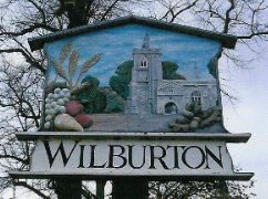 Wilburton Sign